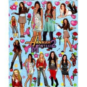 Hannah Montana 2 MILEY CYRUS Sticker Sheet BL239