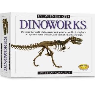 Skullduggery Eyewitness Kit Dinoworks Velociraptor Skeleton Casting