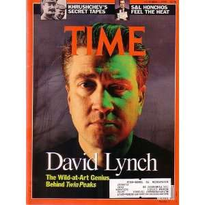 Time Magazine October 1 1990 David Lynch The Wild at Art Genius