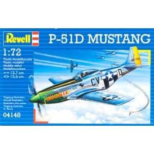 Revell of Germany   1/72 P 51D Mustang (Plastic Model