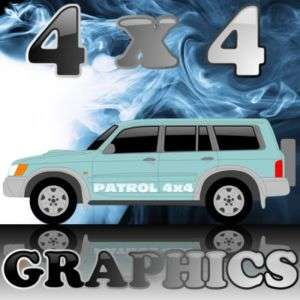 OGNI005 GRAPHICS FOR NISSAN PATROL 4x4 DECALS STICKERS