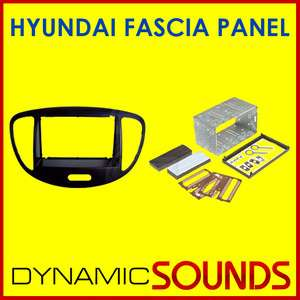 HYUNDAI i10 Car CD Stereo Double Din Fascia Surround Fitting Panel