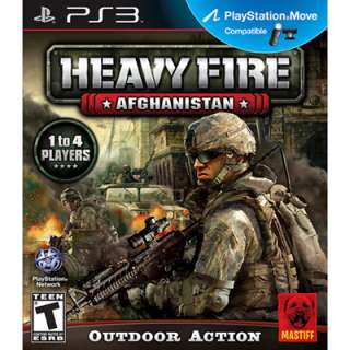 Heavy Fire: Afghanistan for PlayStation 3   PS Move Compatible