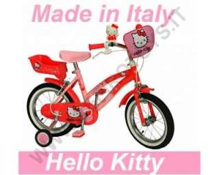 Bici bicicletta bimba bambina 4 5 6 7 anni hello kitty 14