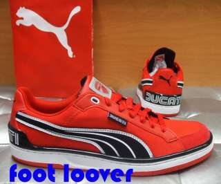 Scarpe Puma Evo Ducati Low 304030 002 Moto Gp uomo red