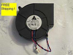 Delta BFB1012VH Brushless fan   fits 1U case