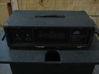 Peavey Series 300 Monitor Amp/Equalizer 150W @ 4 Ohms 9 Band EQ Model