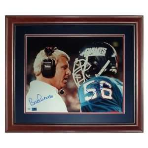 Bill Parcells and Lawrence Taylor Autographed New York