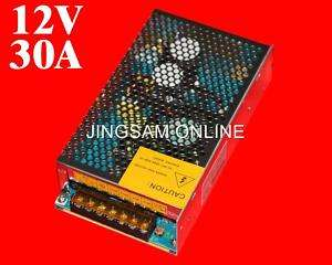 12V 30A 360W Switching Power Supply for LED Strip light