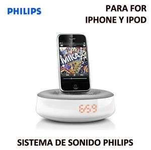 de Sonido Philips DS1100 Fidelio para iPhone iPod Base Dock Altavoces