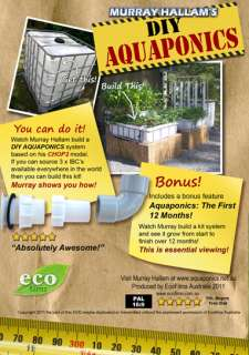 DIY Aquaponics DVD by Murray Hallam  Permaculture