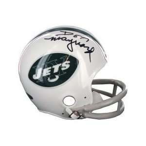 Don Maynard Jets Mini Helmet Sports Football Sports