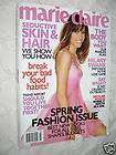 MARIE CLAIRE MARCH 2007 HILARY SWANK & SPRING FASHIONS