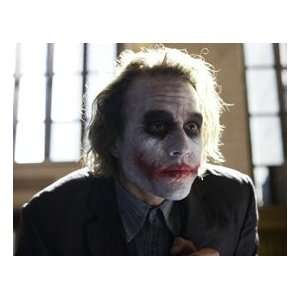 The Joker! HEATH LEDGER Batman / Dark Knight UNSIGNED