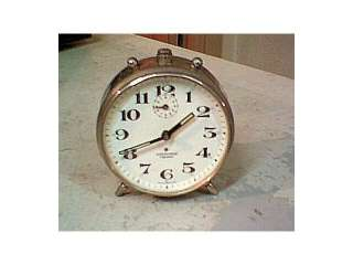 reloj de mesa antiguo.metal.alemania. (3962560)    anuncios