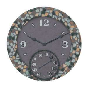 Taylor Precision 92586 Mosaic Clock and Thermometer 14