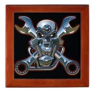 Keepsake Box Mahogany Motorhead Skull Wrenches: Everything Else