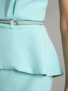Homepage  Women  Dresses  Almari Almari peplum belted dress