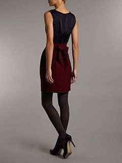 Homepage  Women  Dresses  Closet Closet cowl satin 2in1 dress