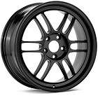 17 enkei rpf1 black rims wheels 17x8 45 5x114 3