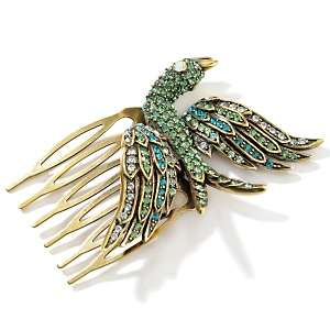 Heidi Daus Birds of a Feather Crystal Hair Comb