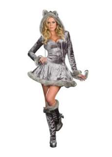 Sexy Big Bad Sexy Wolf  Cheap Fairytale Halloween Costume for Sexy