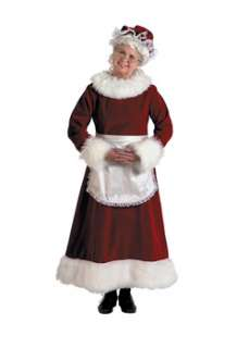 Mrs Claus Xl fors  Cheap Christmas Halloween Costume for Women
