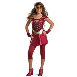 Iron Man 2 (2010) Movie   Iron Girl Tween Costume, 801933