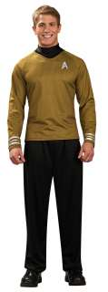 Adult Star Trek Gold Shirt Costume   Star Trek Costumes