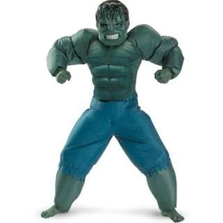 The Incredible Hulk 2008 Movie Inflatable Child Costume   Costumes