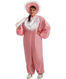 Baby Girl Plus Size Costume for Adults  Funny Baby Halloween Costume