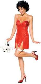Betty Boop Deluxe Adult Costume Sing your heart out Includes Short