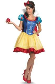 Disney Princess Snow White Sassy Deluxe Adult Costume for Halloween