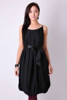 Black Craigi Ribbon Belted Dress By Malene Birger   Black   Buy