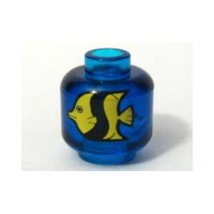 Lego Mini Fish Tank Brick 1/2 inch (Aquarium) Toys & Games