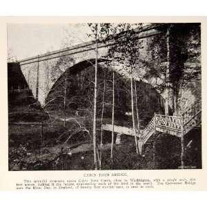 1908 Prin Cabin John Bridge Creek Washingon Union Arch