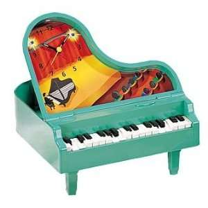 Green Piano Sound and Motion Alarm Clock SS 90921