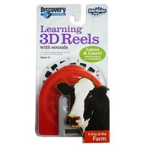Master Learning 3D Reels with Sound A Day at the Farm Toys & Games