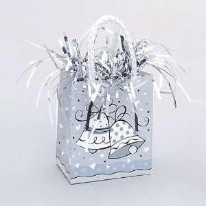 Wedding Bell Mini Gift Bag Balloon Weight Toys & Games