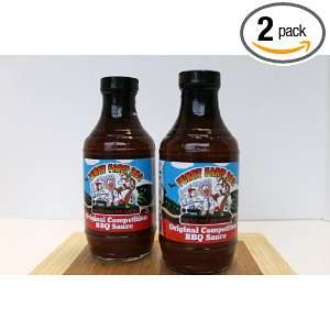 Funny Farm BBQ Original Competition BBQ Sauce 2 pack