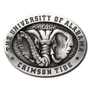 Alabama Crimson Tide Belt Buckle   NCAA College Athletics