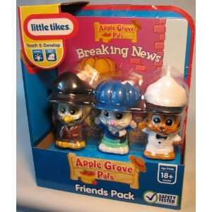 Little Tikes Breaking News Apple Grove Pals Toys & Games