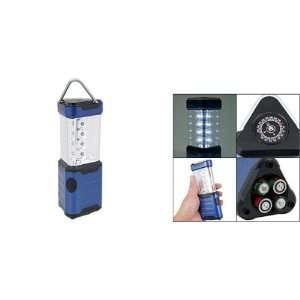 12 White LED Light Camping Lantern Lamp Blue Patio, Lawn & Garden