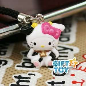 Sanrio Hello Kitty Animal Cow Cell Phone Charm