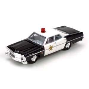 HO Die cast 1967 Ford Galaxie Police Car MWI30159  Toys & Games