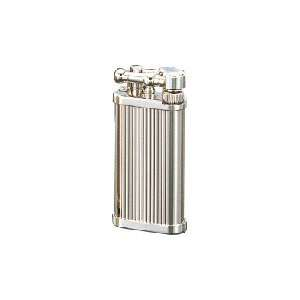 Corona Classico Chrome Diamond Cut Lines Cigarette Lighter