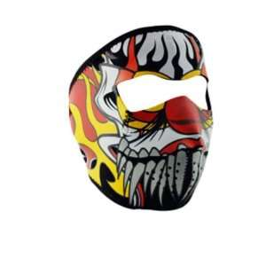 Neoprene Lethal Threat Clown Design Full Face Mask Sports