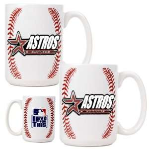Houston Astros Football Coffee Mug Gift Set: Sports & Outdoors