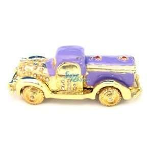 Car   Jewelry Trinket Box Swarovski Crystal (JF8033