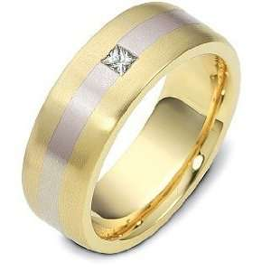 18 Karat Gold Diamond Wedding Band Ring   9.75 Dora Rings Jewelry